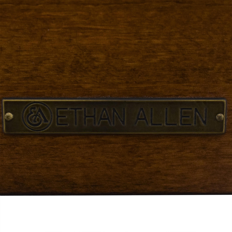 shop Ethan Allen Townhouse King Bed Frame Ethan Allen