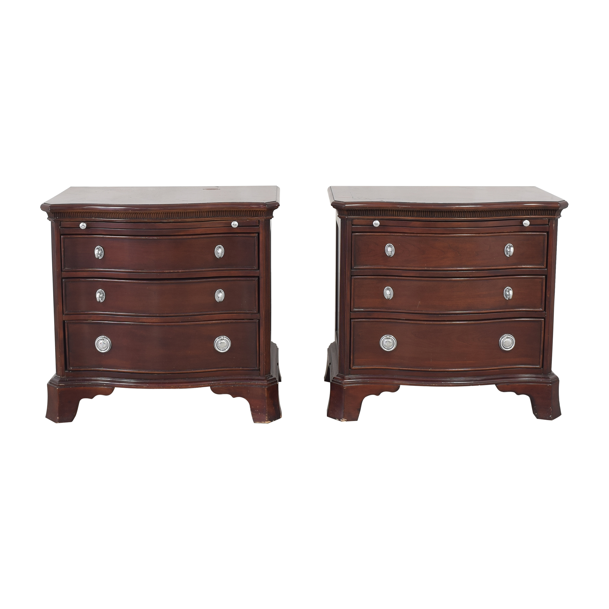 Three Drawer Nightstands dimensions
