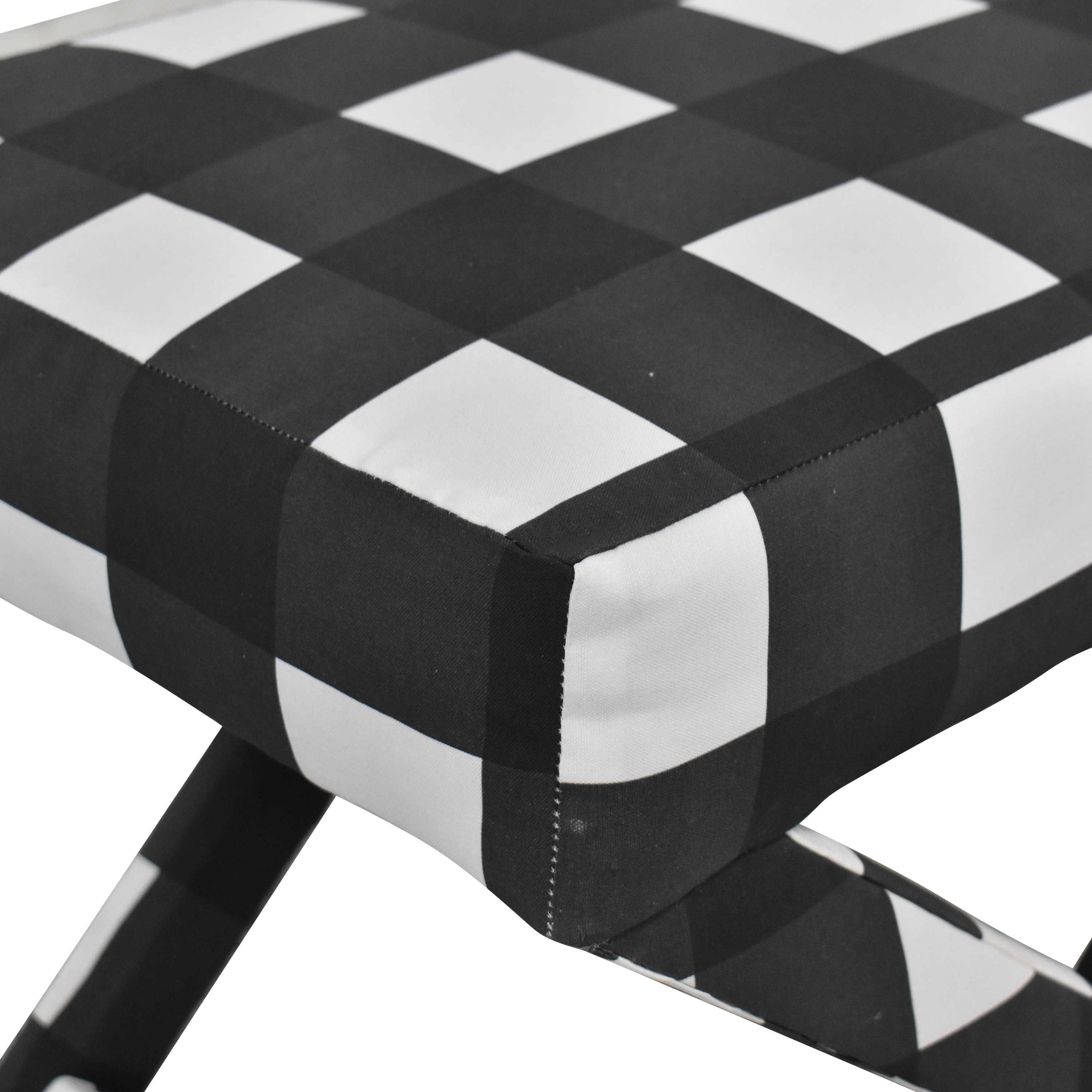 The Inside The Inside Black Check X-Bench for sale