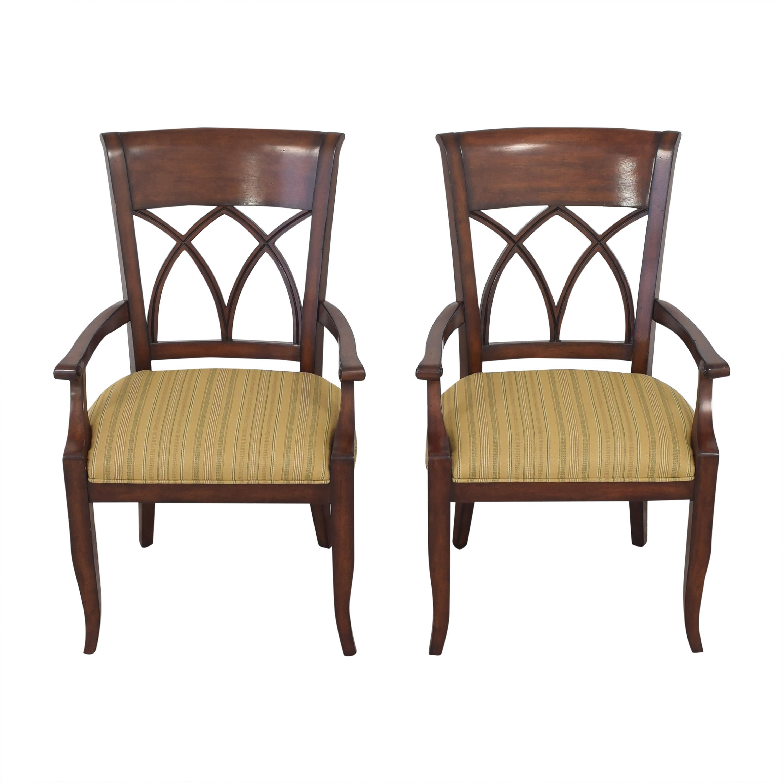 Bernhardt Bernhardt Upholstered Seat Armchairs nj
