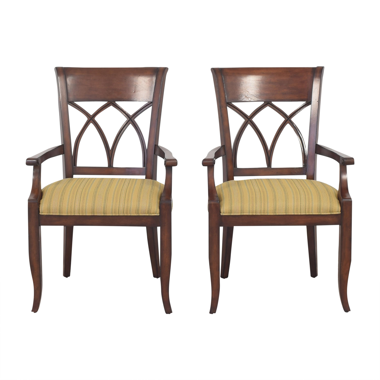 Bernhardt Bernhardt Upholstered Seat Armchairs used