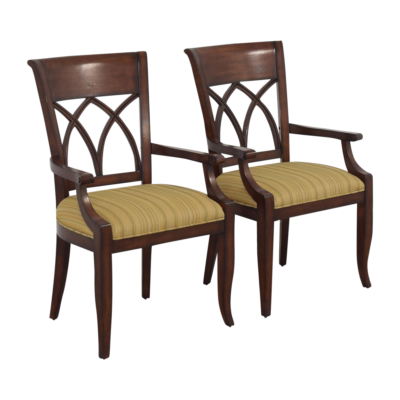 shop Bernhardt Upholstered Seat Armchairs Bernhardt Dining Chairs