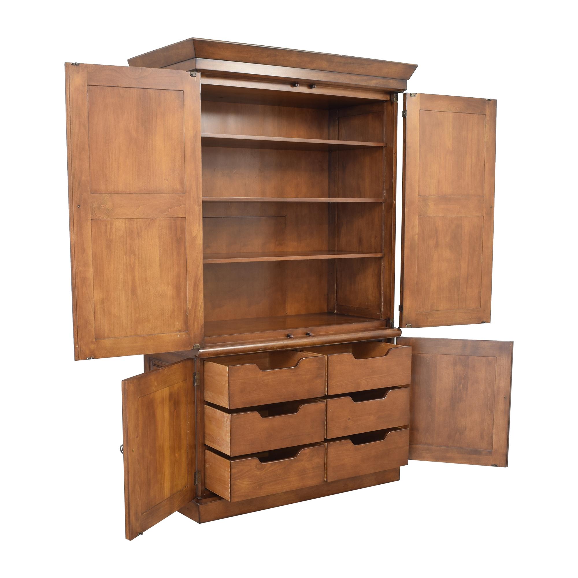 Century Furniture Century Furniture Tuscany Armoire brown