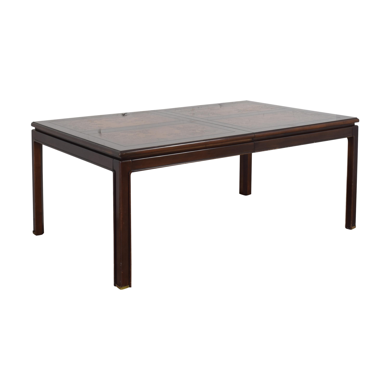 Bernhardt Shibui Style Extendable Dining Table / Tables