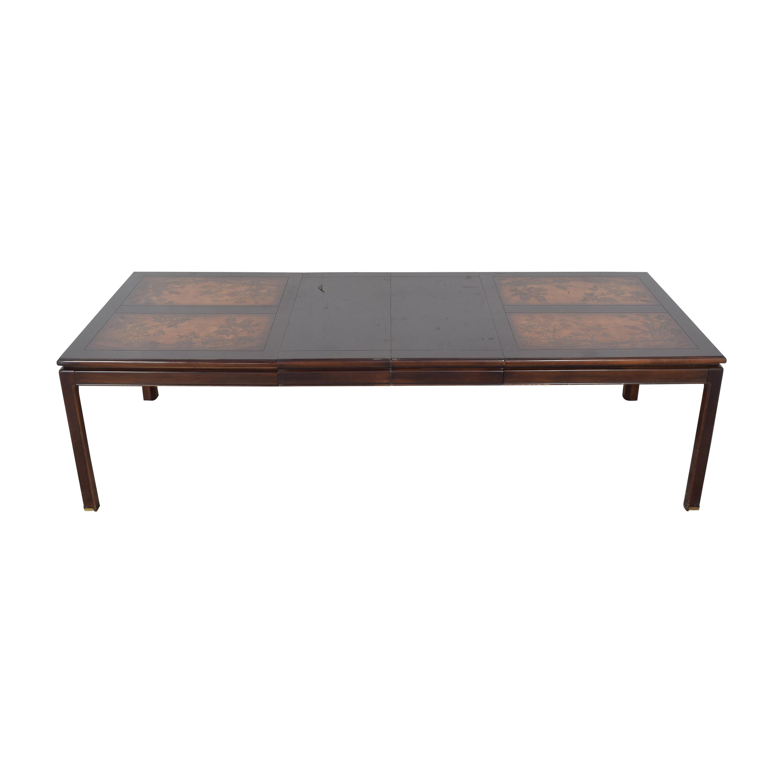 Bernhardt Bernhardt Shibui Style Extendable Dining Table nj