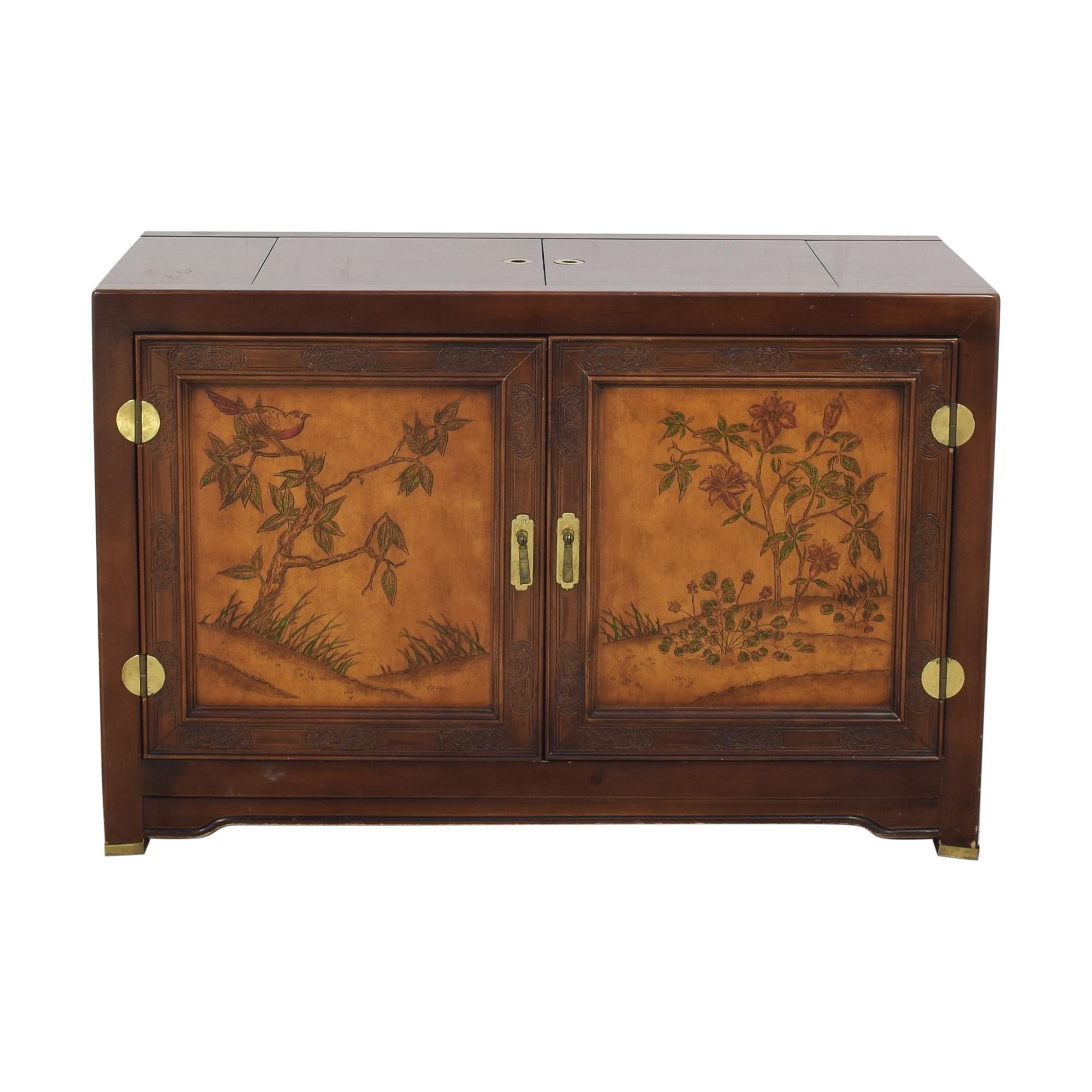 shop Bernhardt Flair Division Shibui Buffet Bernhardt Cabinets & Sideboards