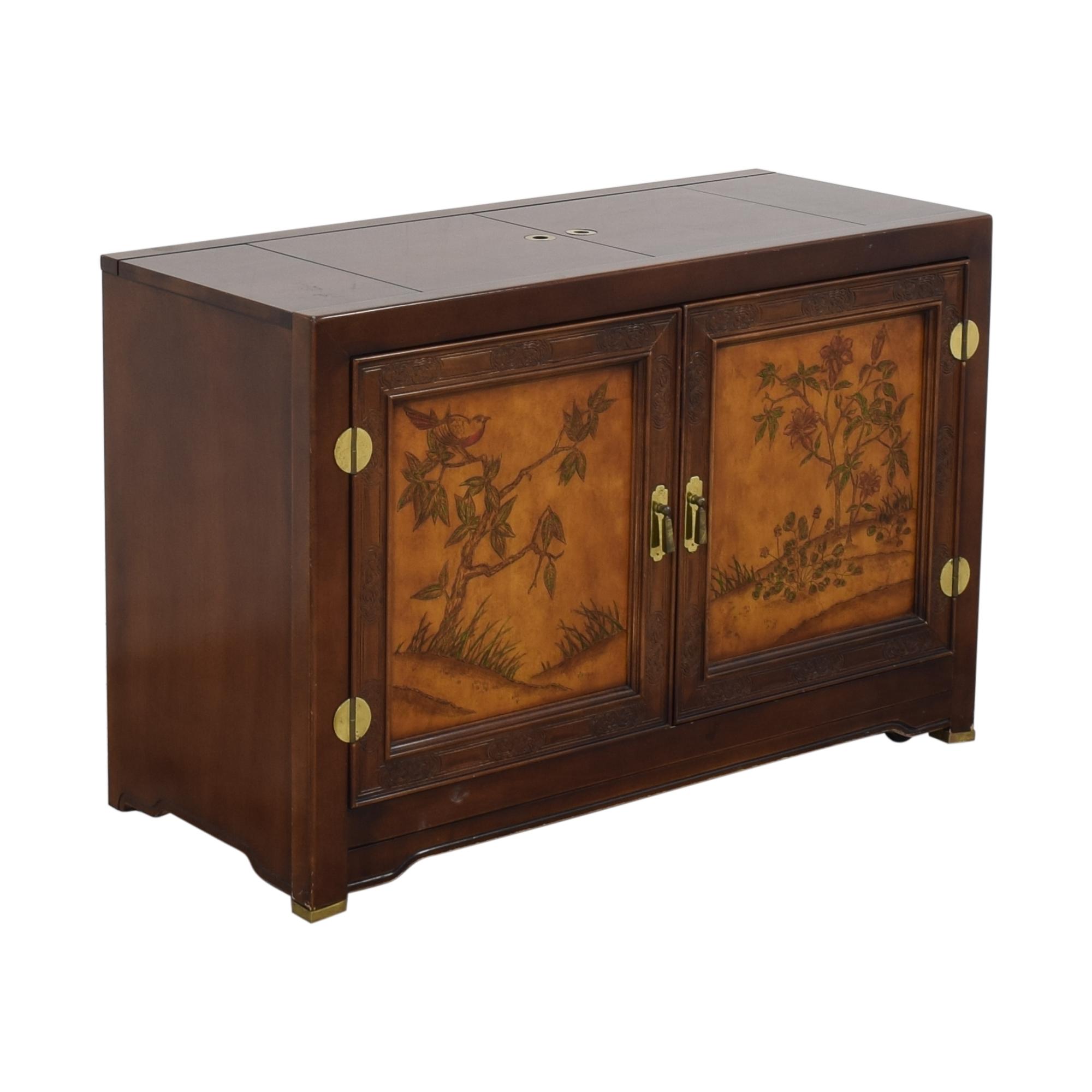 buy Bernhardt Flair Division Shibui Buffet Bernhardt Cabinets & Sideboards
