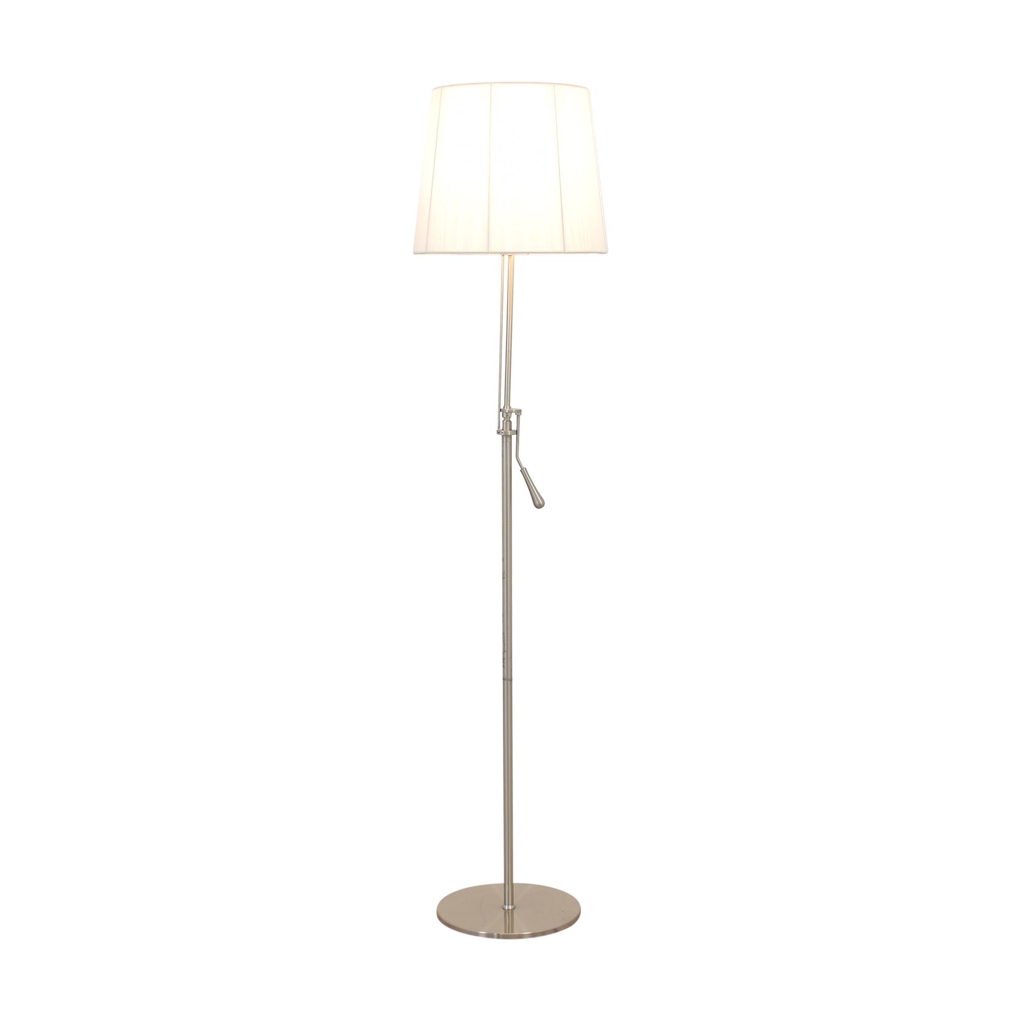 Gracious Home Gracious Home Swing Arm Floor Lamp dimensions