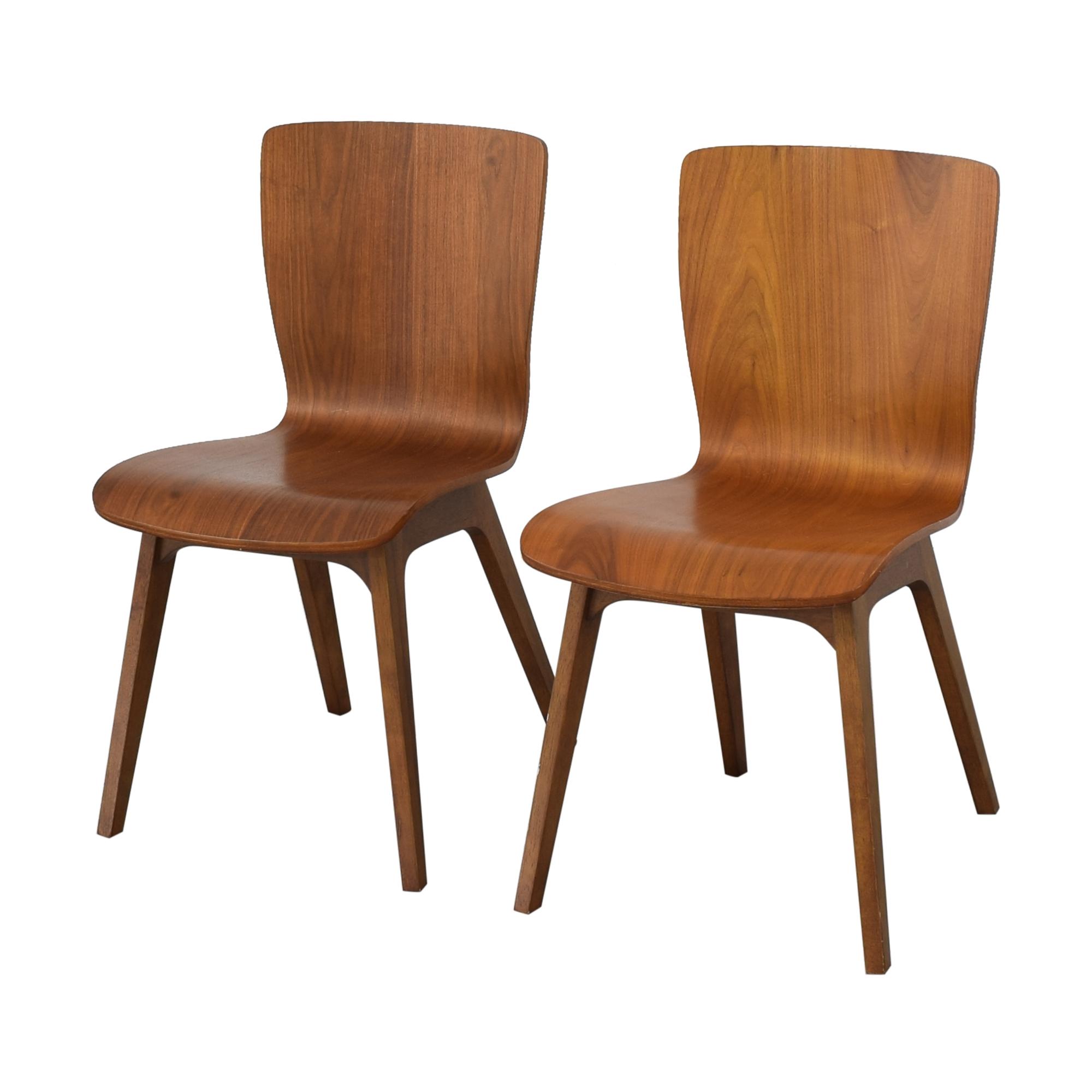 buy West Elm Crest Brentwood Chairs West Elm
