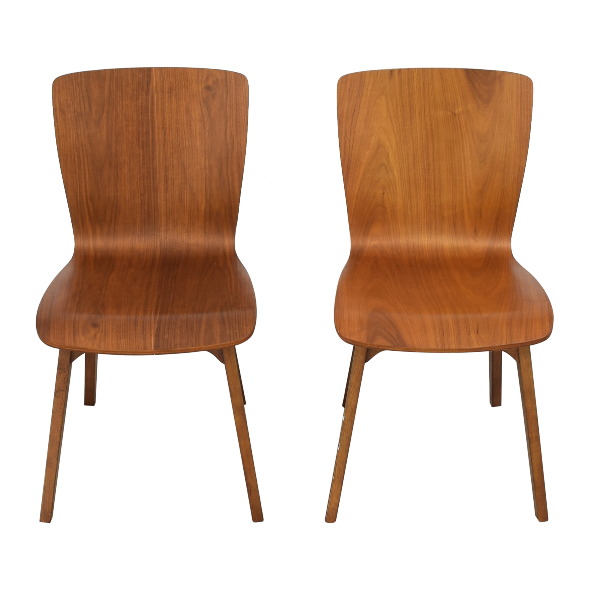 West Elm West Elm Crest Brentwood Chairs discount