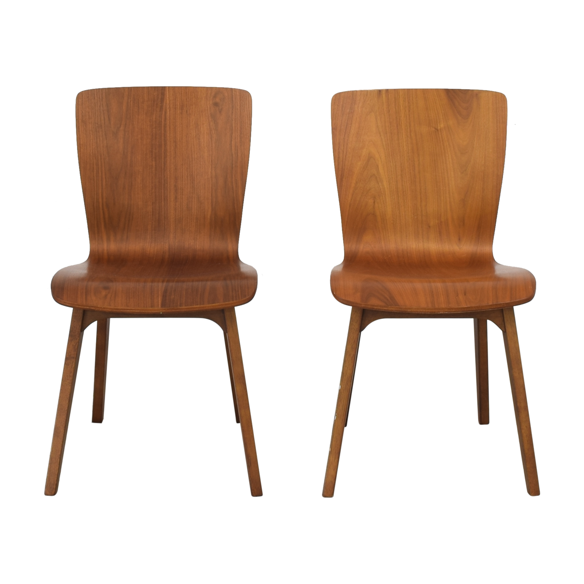buy West Elm Crest Brentwood Chairs West Elm Dining Chairs