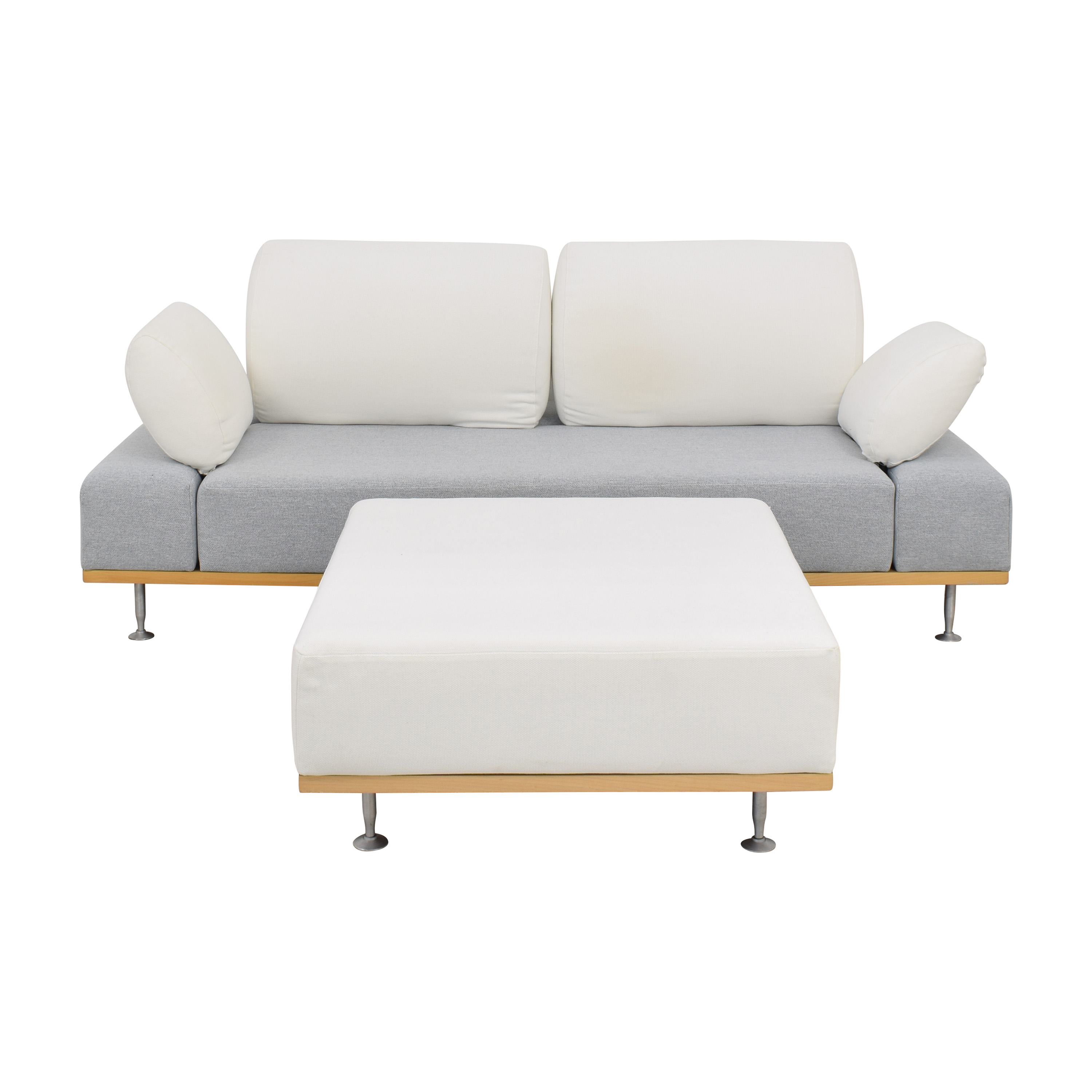 Bonaldo Modern Sofa with Ottoman sale