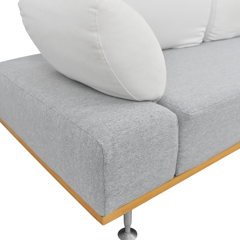 Bonaldo Modern Sofa with Ottoman / Sofas