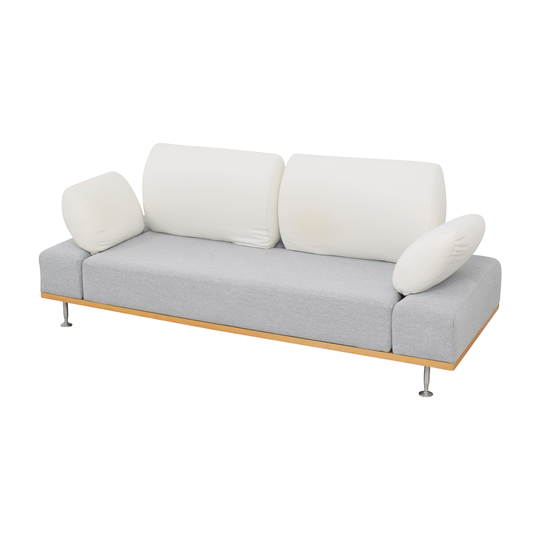 Bonaldo Bonaldo Modern Sofa with Ottoman