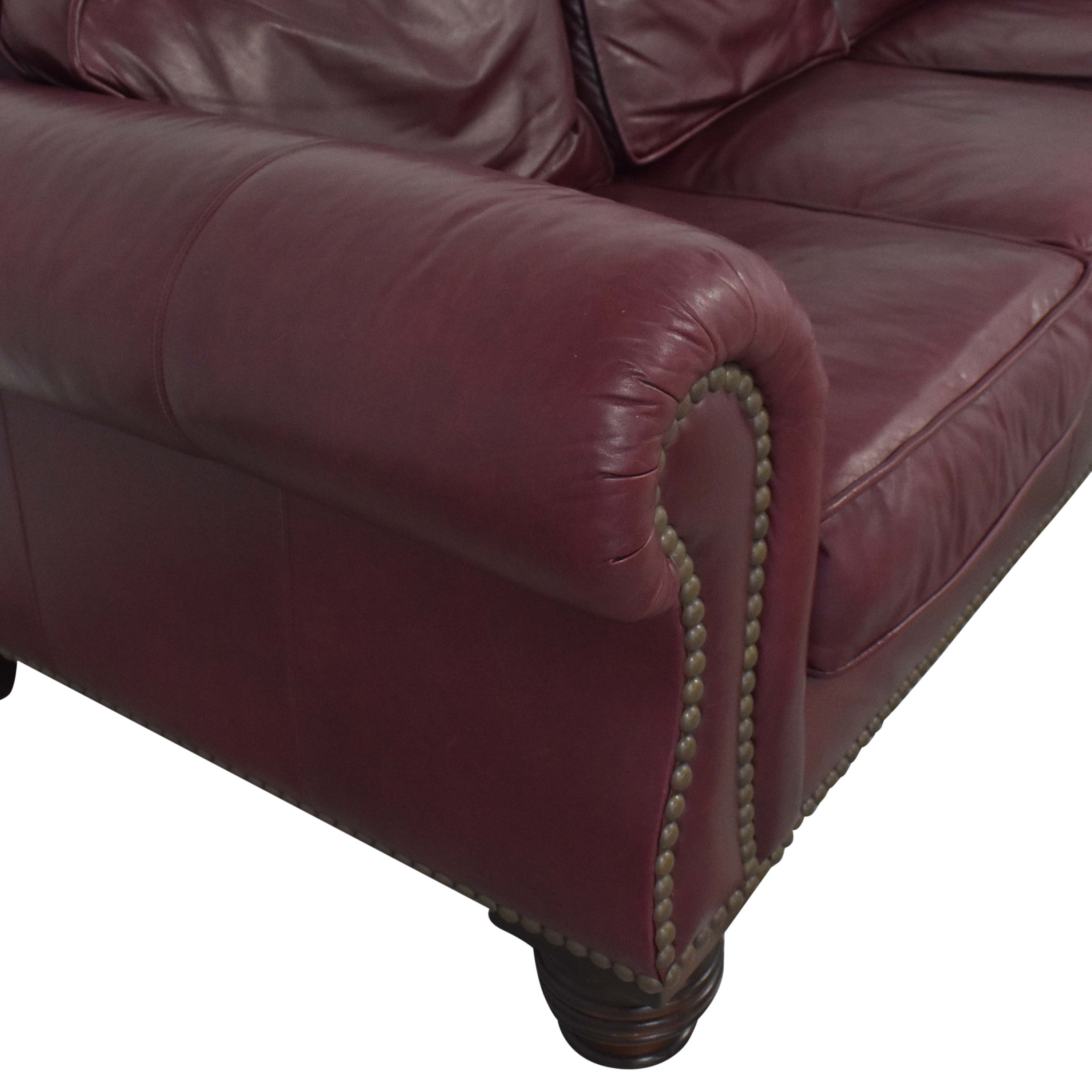 Lillian August Lillian August Roll Arm Luxury Sofa discount