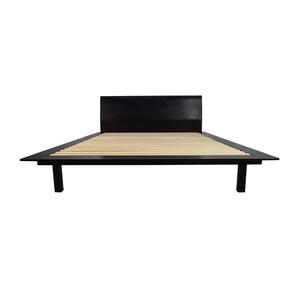 shop Design Within Reach Design Within Reach Zola Queen Bed in Wenge online