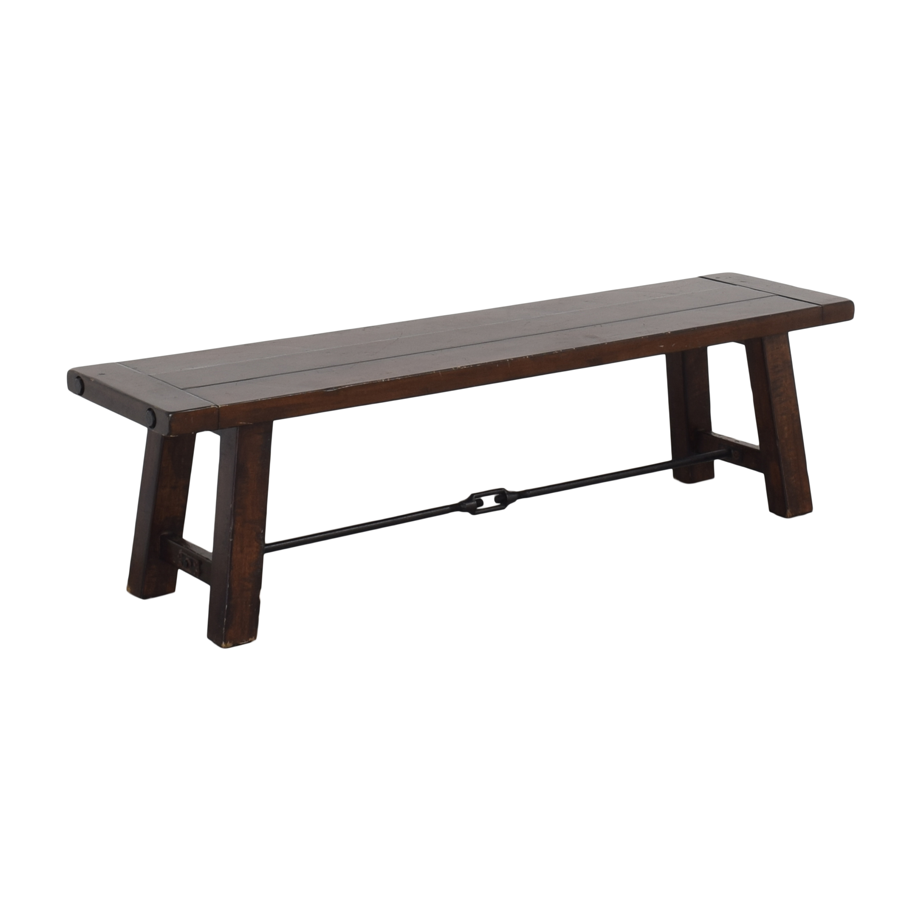 Pottery Barn Pottery Barn Benchwright Dining Room Bench discount