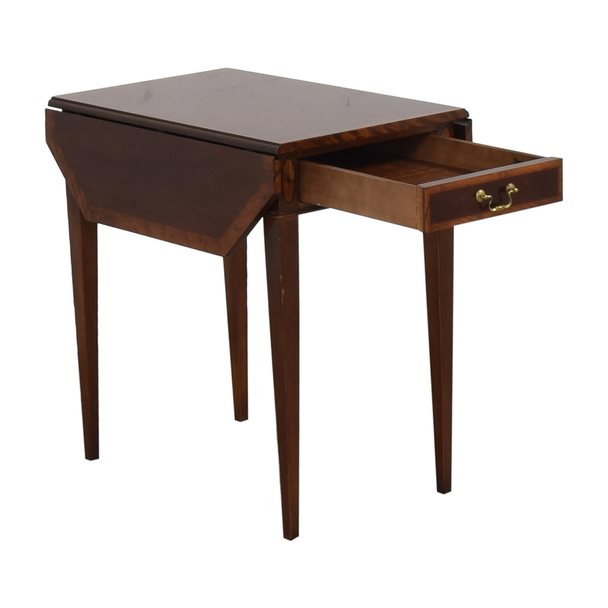 shop Henredon Drop Leaf Accent Table Henredon Furniture Accent Tables