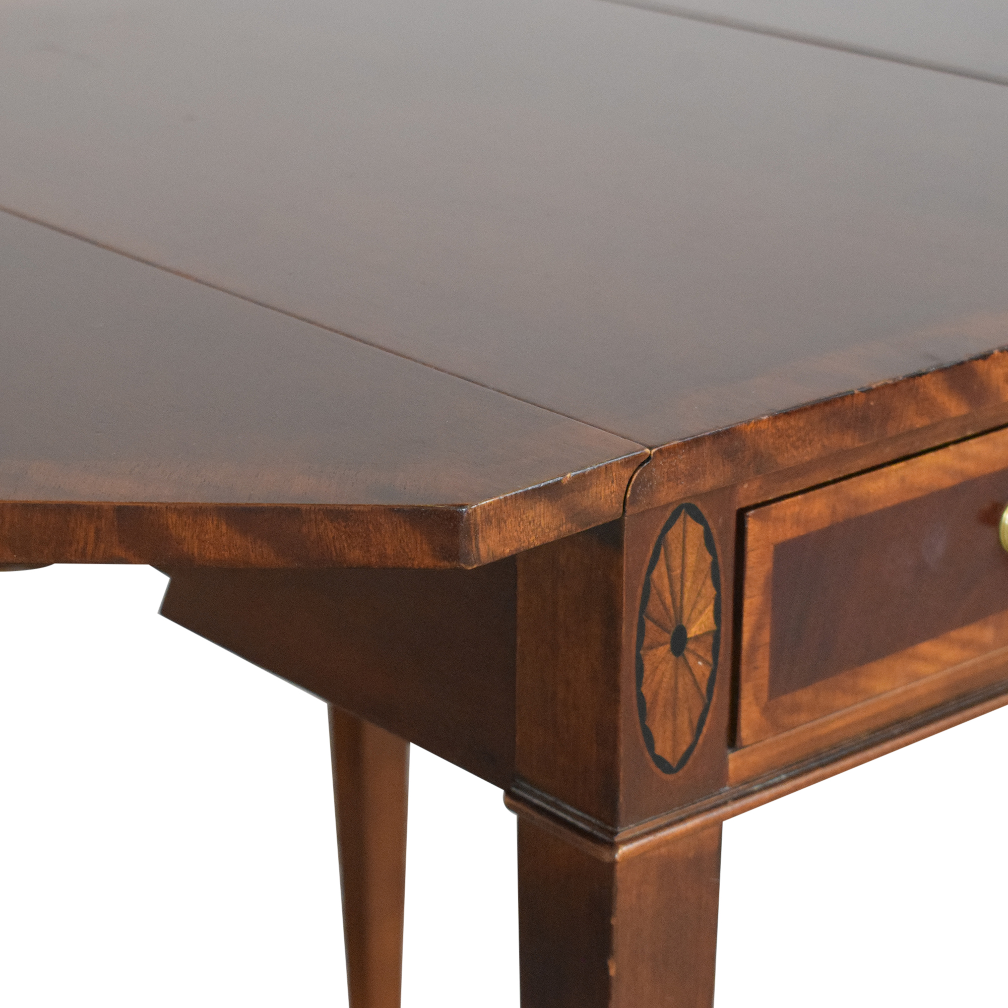 Henredon Furniture Henredon Drop Leaf Accent Table Tables