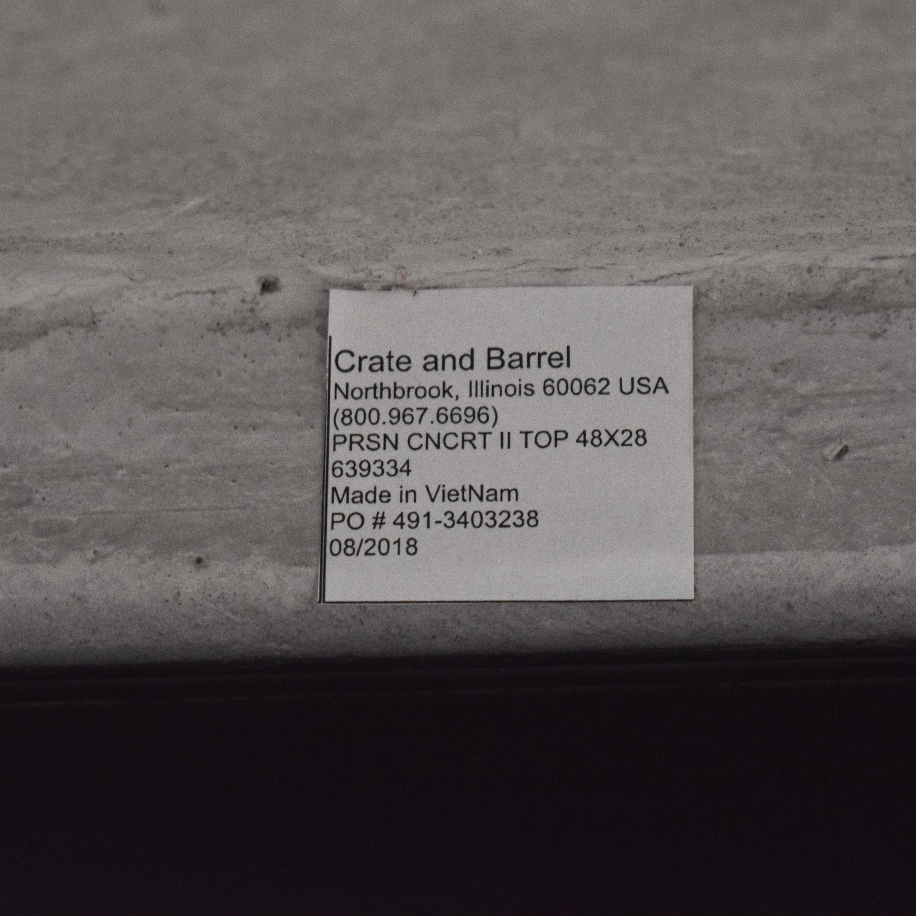 Crate & Barrel Crate & Barrel Parsons Dining Table used
