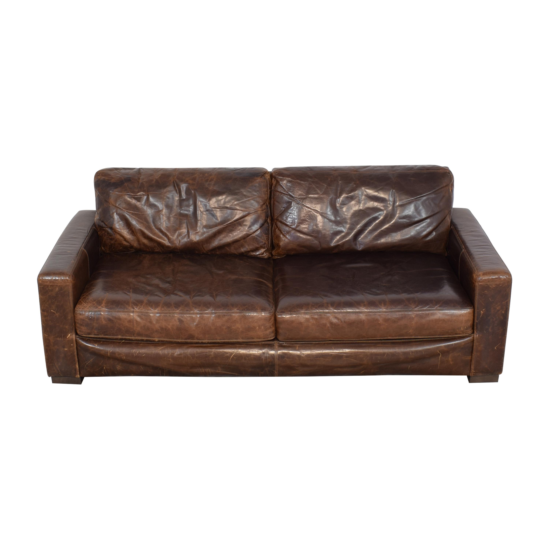 shop Restoration Hardware Restoration Hardware Maxwell Two Cushion Sofa online