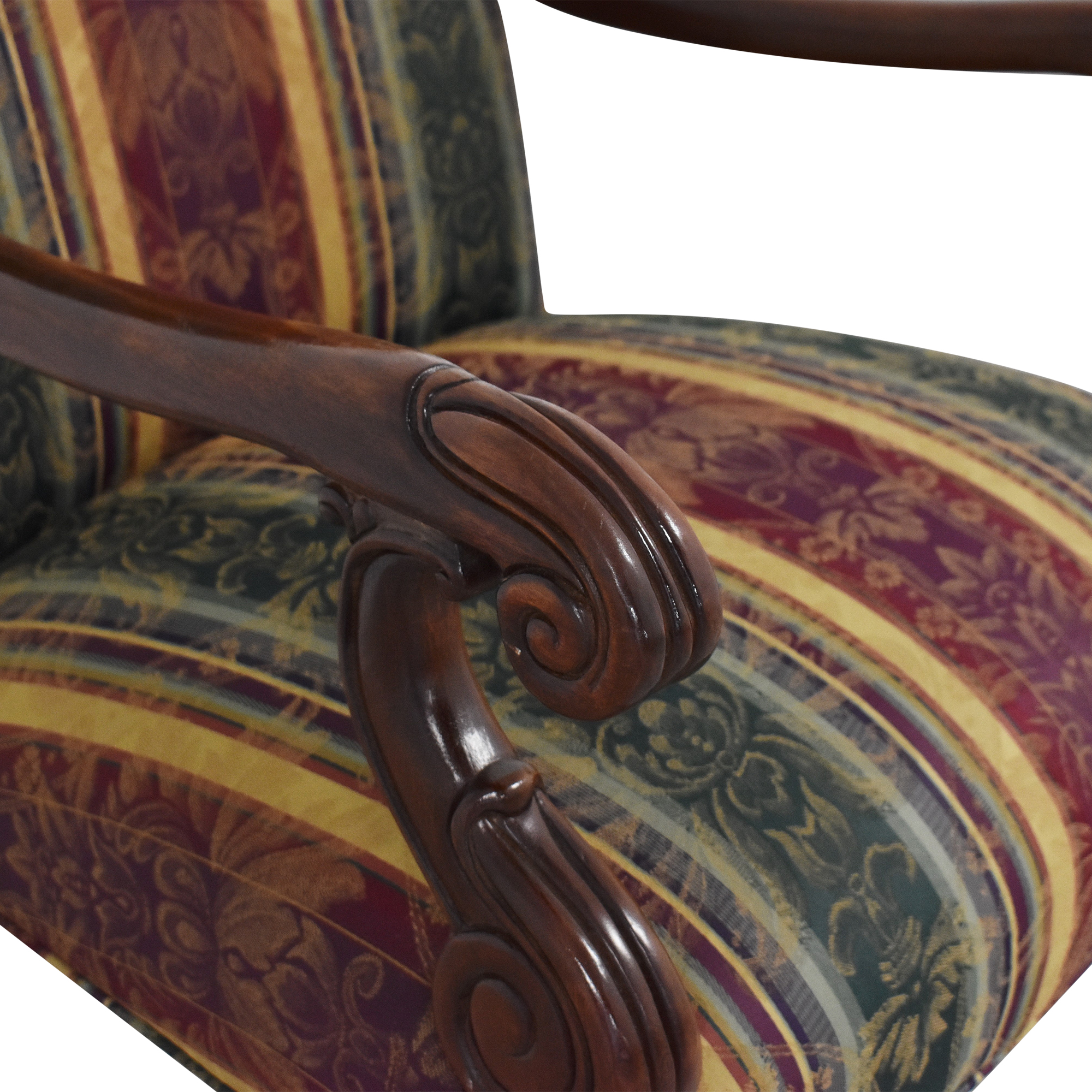 Hickory Chair Hickory Chair Chippendale Library Arm Chair discount