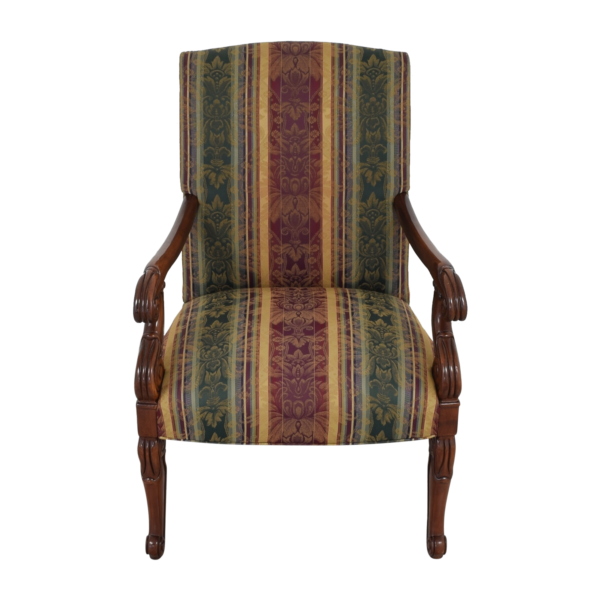 Hickory Chair Hickory Chair Chippendale Library Arm Chair used