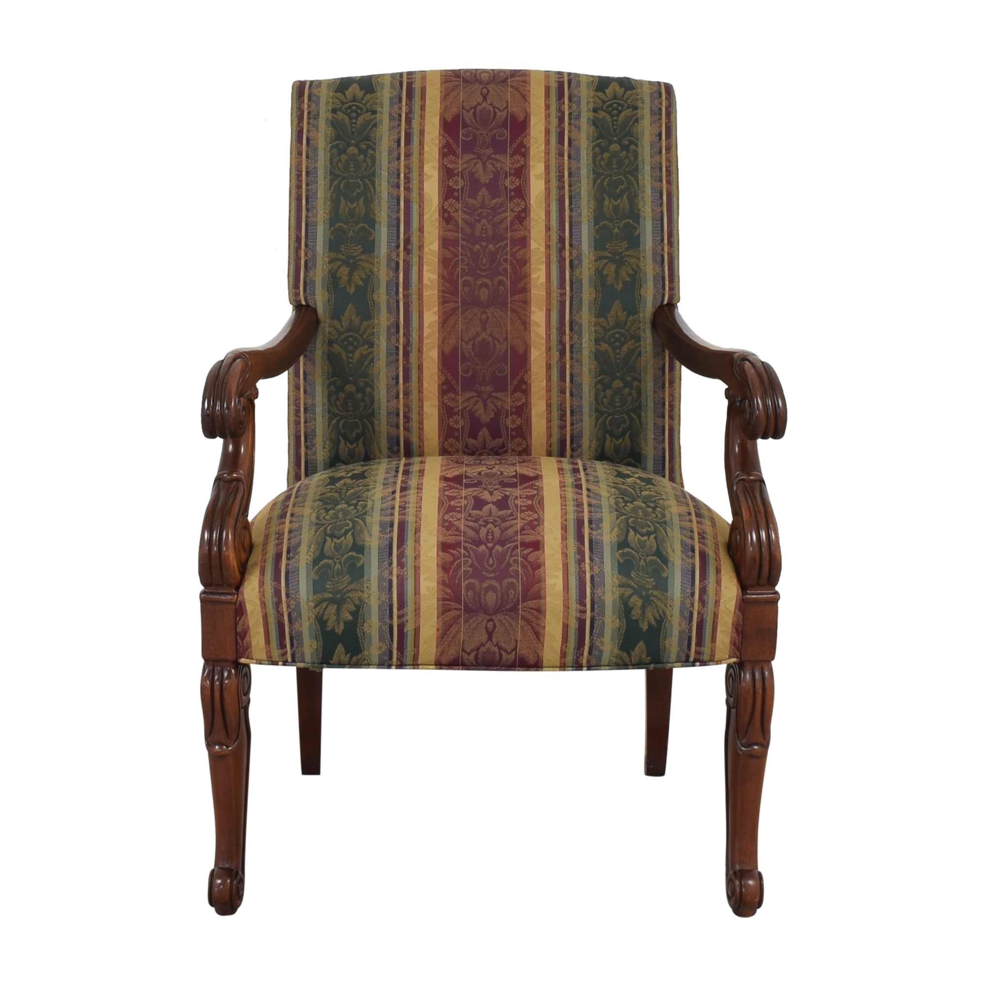 buy Hickory Chair Chippendale Library Arm Chair Hickory Chair
