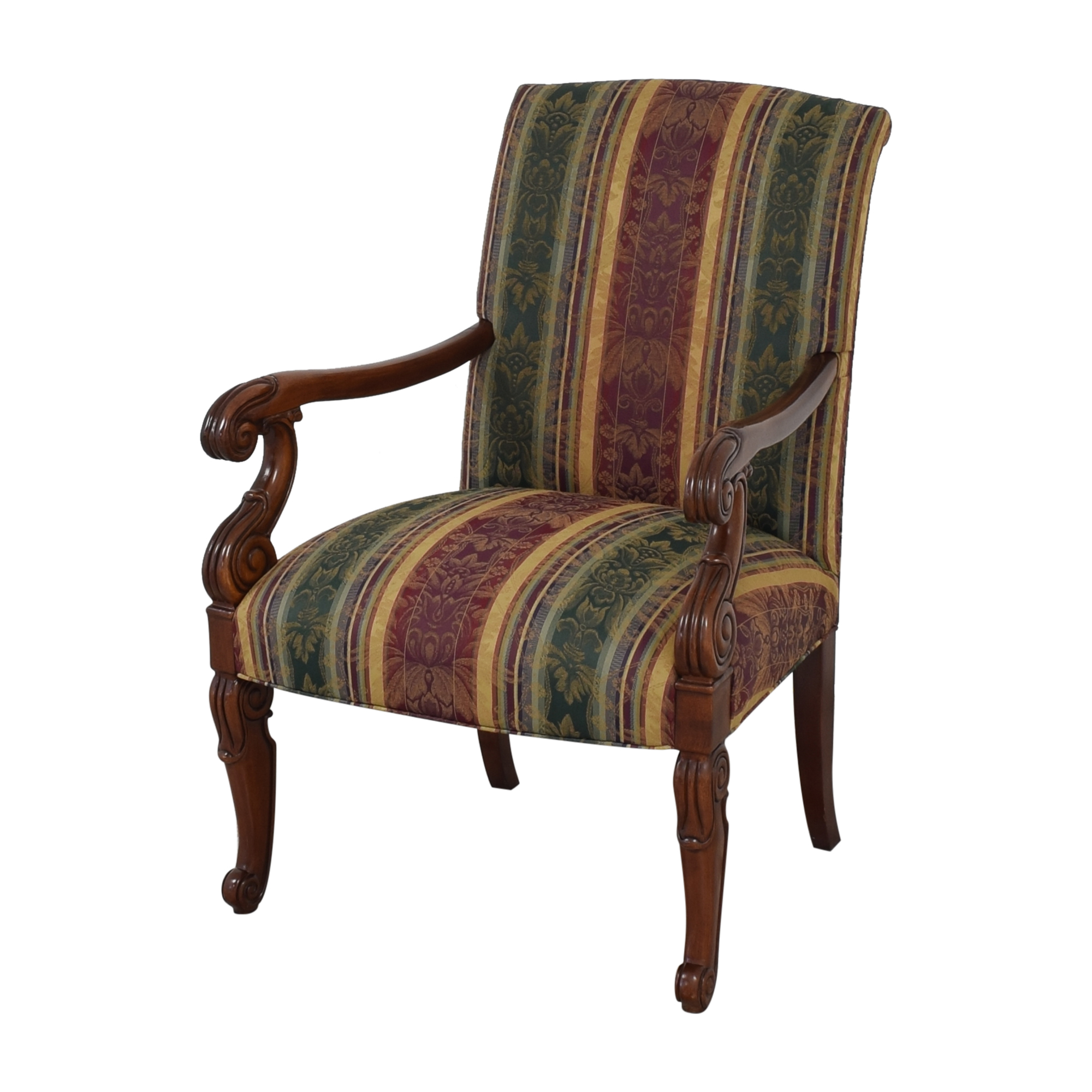 Hickory Chair Hickory Chair Chippendale Library Arm Chair second hand