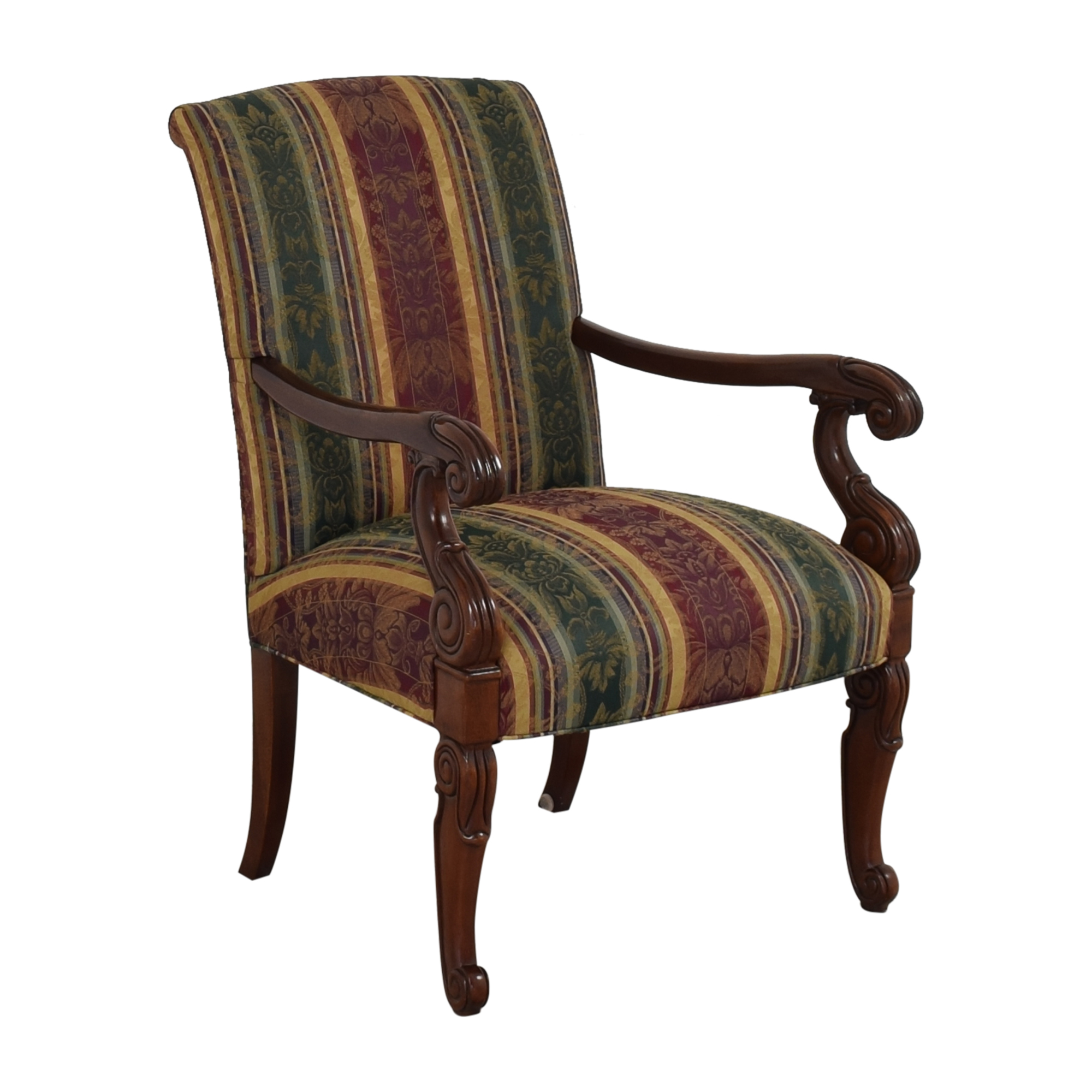Hickory Chair Chippendale Library Arm Chair sale