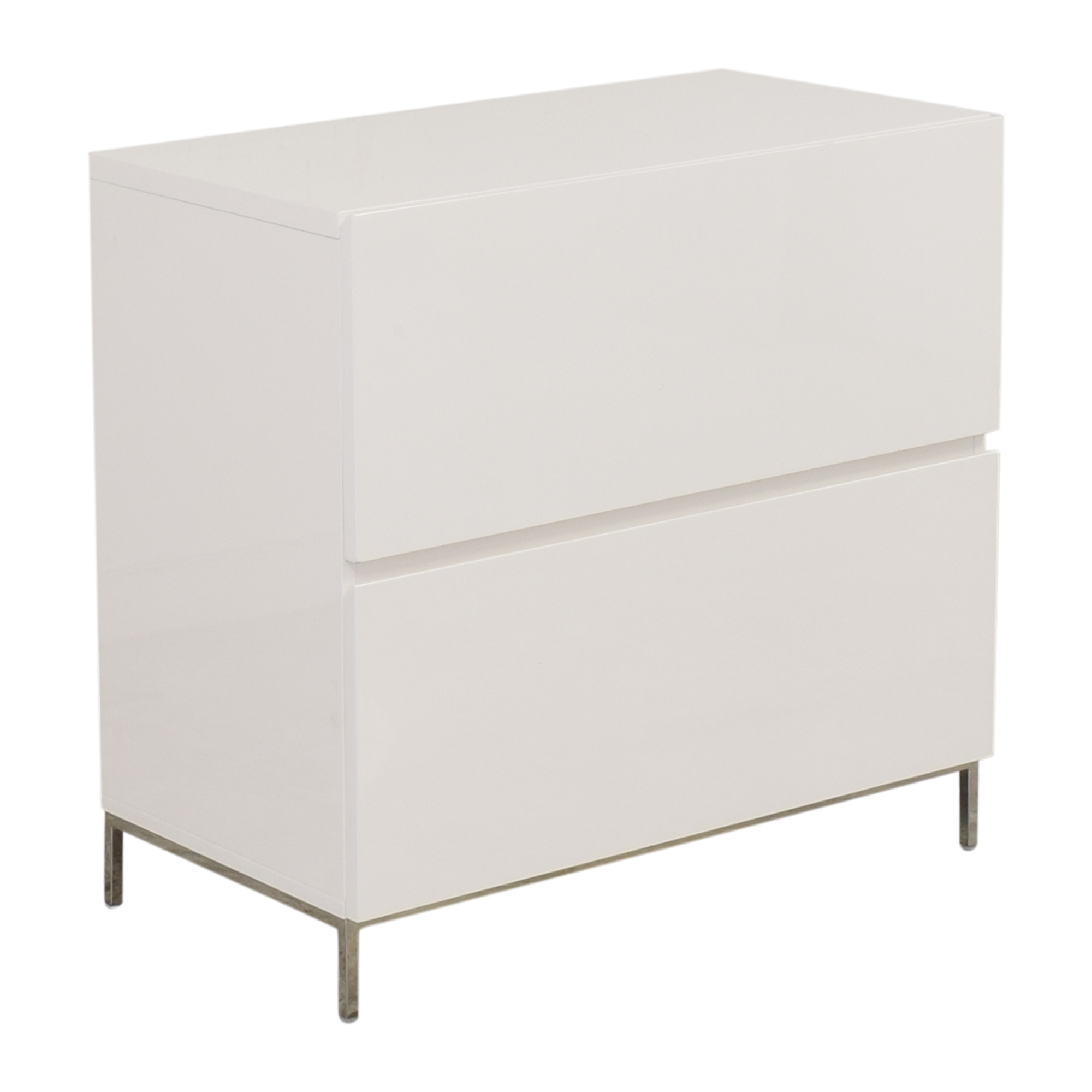shop West Elm Lacquer Storage Modular Lateral File Cabinet West Elm