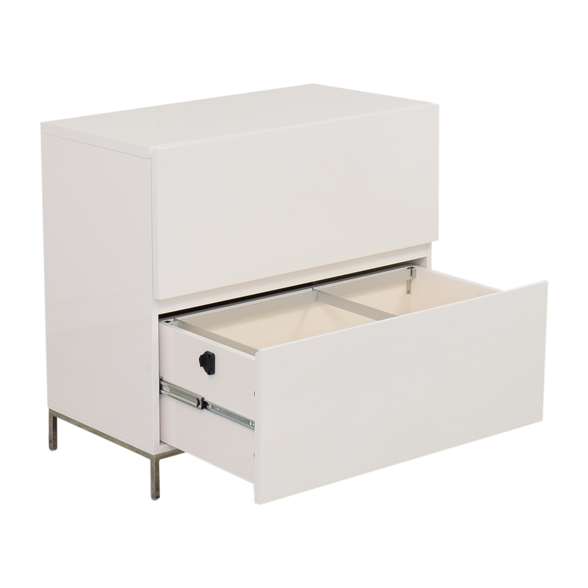 West Elm West Elm Lacquer Storage Modular Lateral File Cabinet second hand