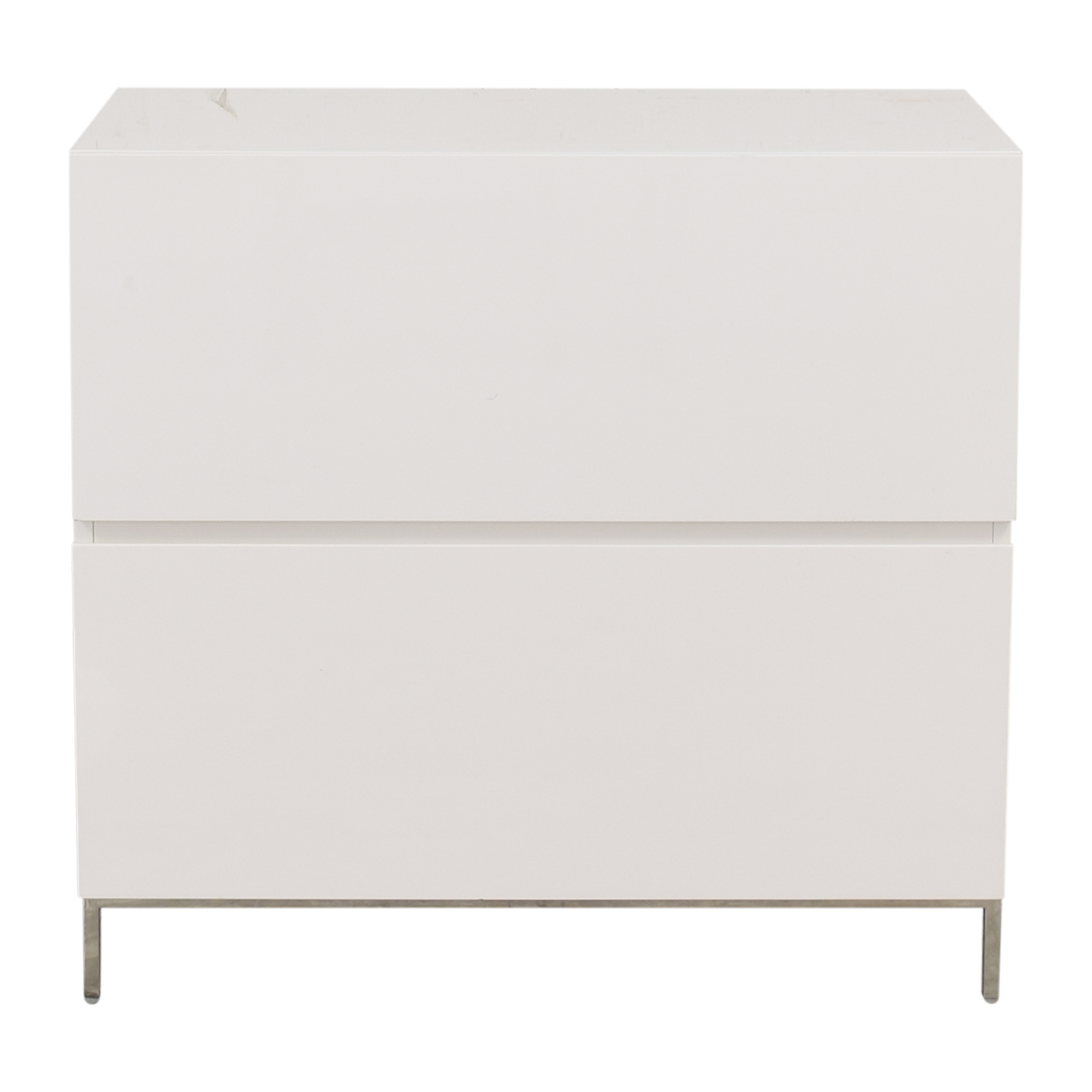 shop West Elm Lacquer Storage Modular Lateral File Cabinet West Elm