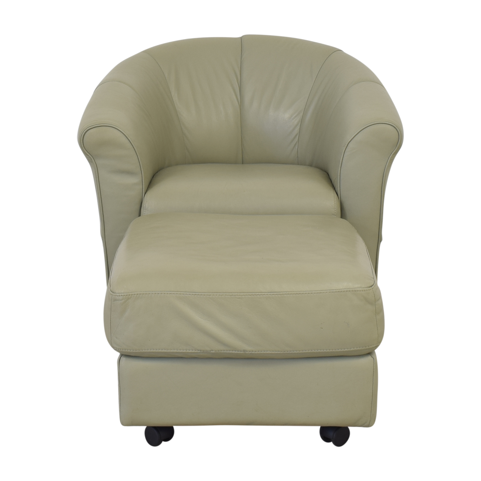 Italsofa Italsofa Swivel Chair and Ottoman ma