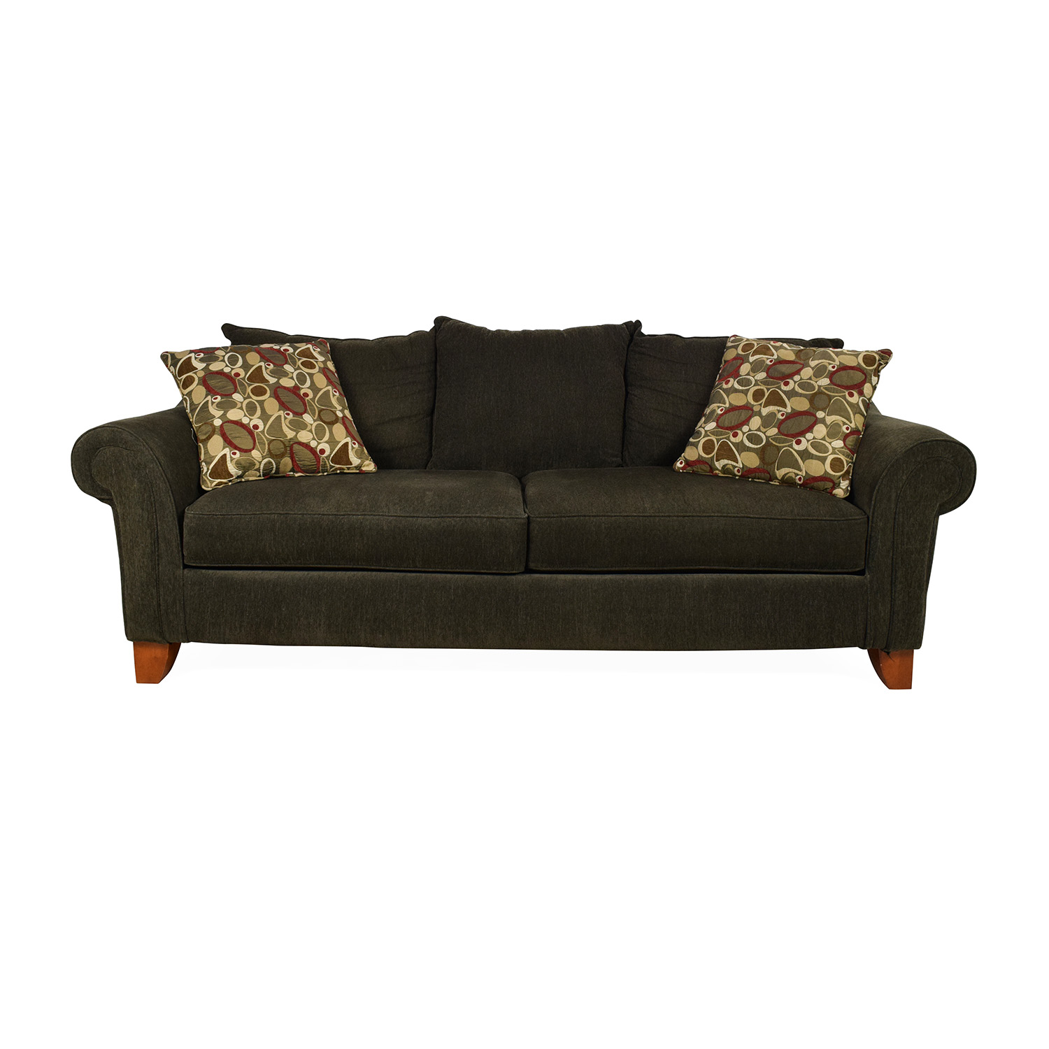 Raymour and Flanigan Raymour & Flanigan Molly Chenille Sofa Classic Sofas