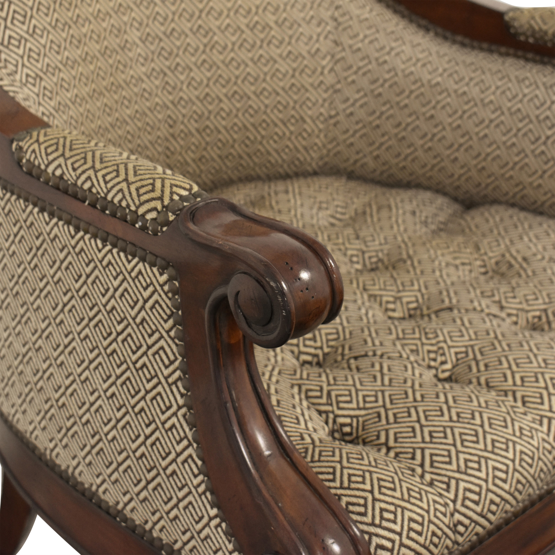 Thomasville Thomasville Accent Chair and Ottoman on sale