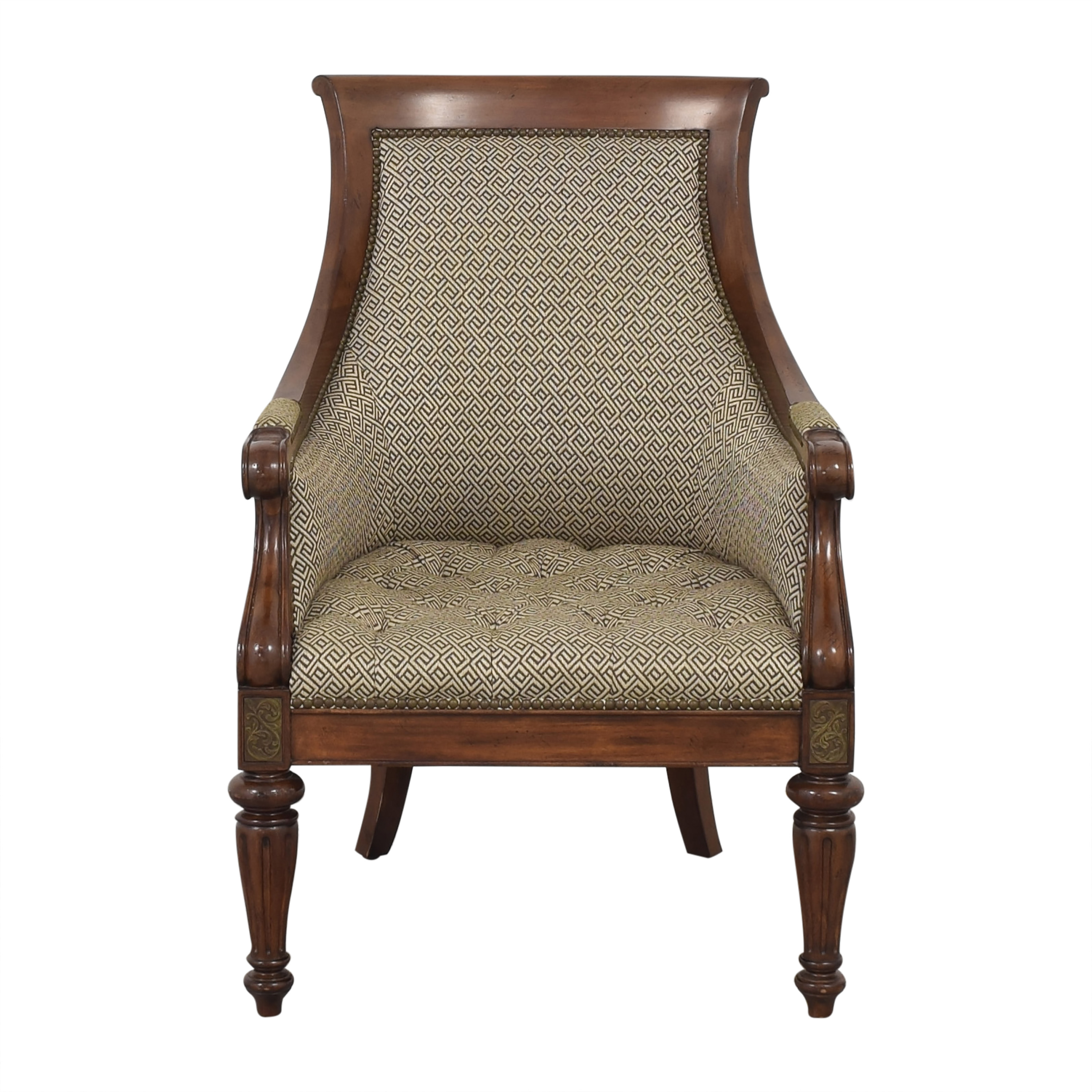 Thomasville Thomasville Accent Chair and Ottoman Accent Chairs