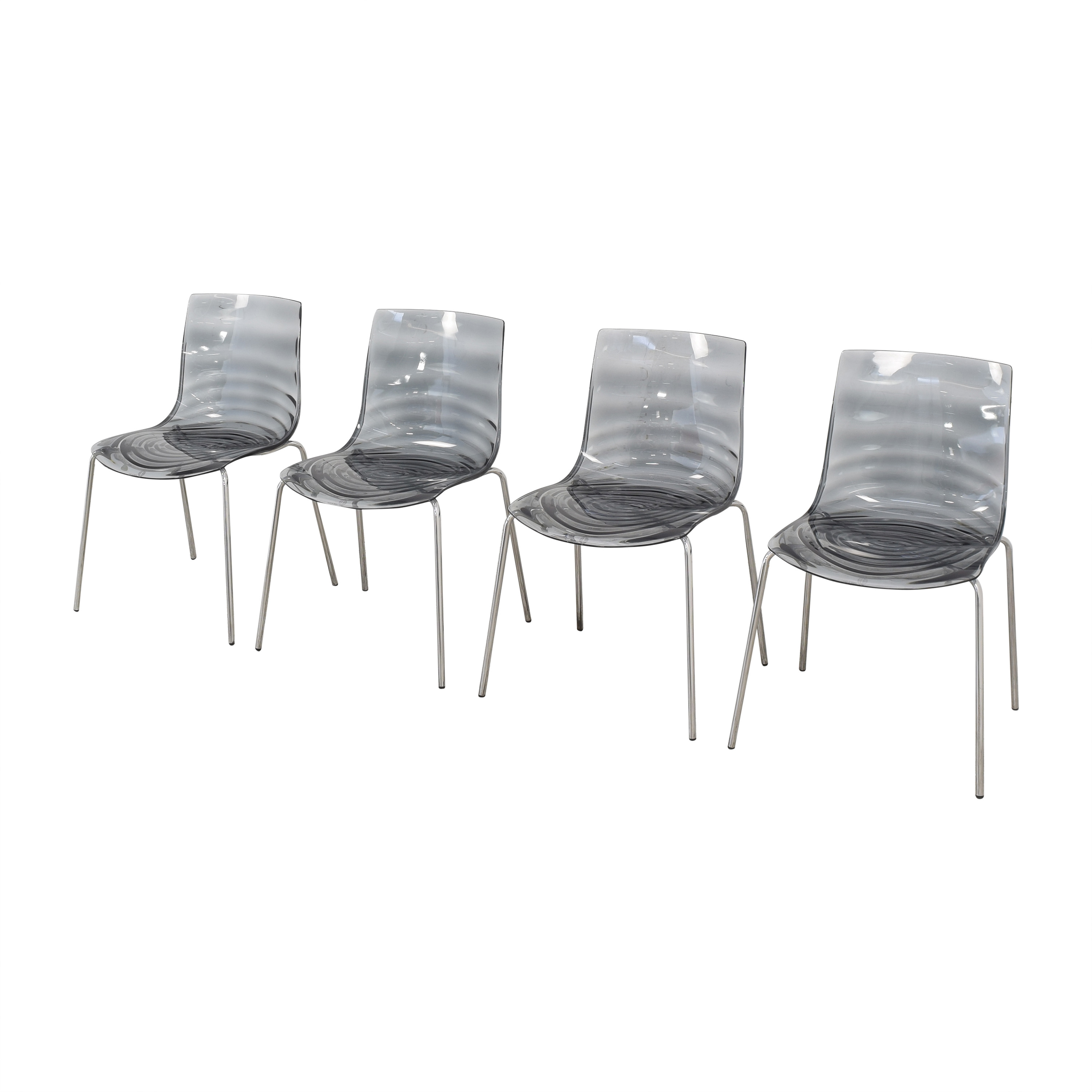 buy Calligaris Connubia L'Eau Dining Chairs Calligaris Chairs