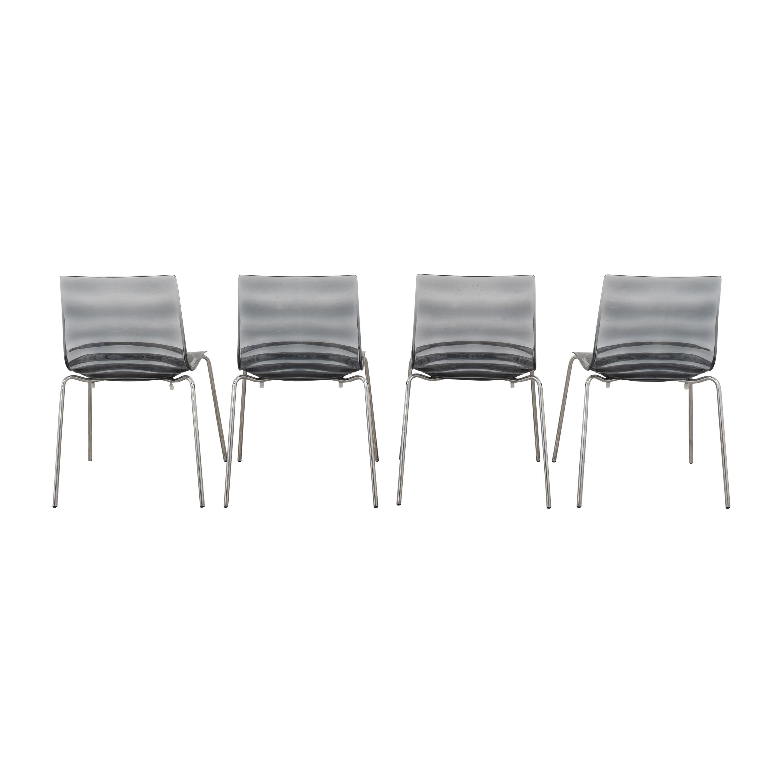 Calligaris Calligaris Connubia L'Eau Dining Chairs dimensions
