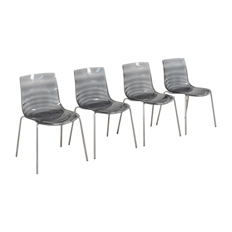 Calligaris Connubia L'Eau Dining Chairs Calligaris
