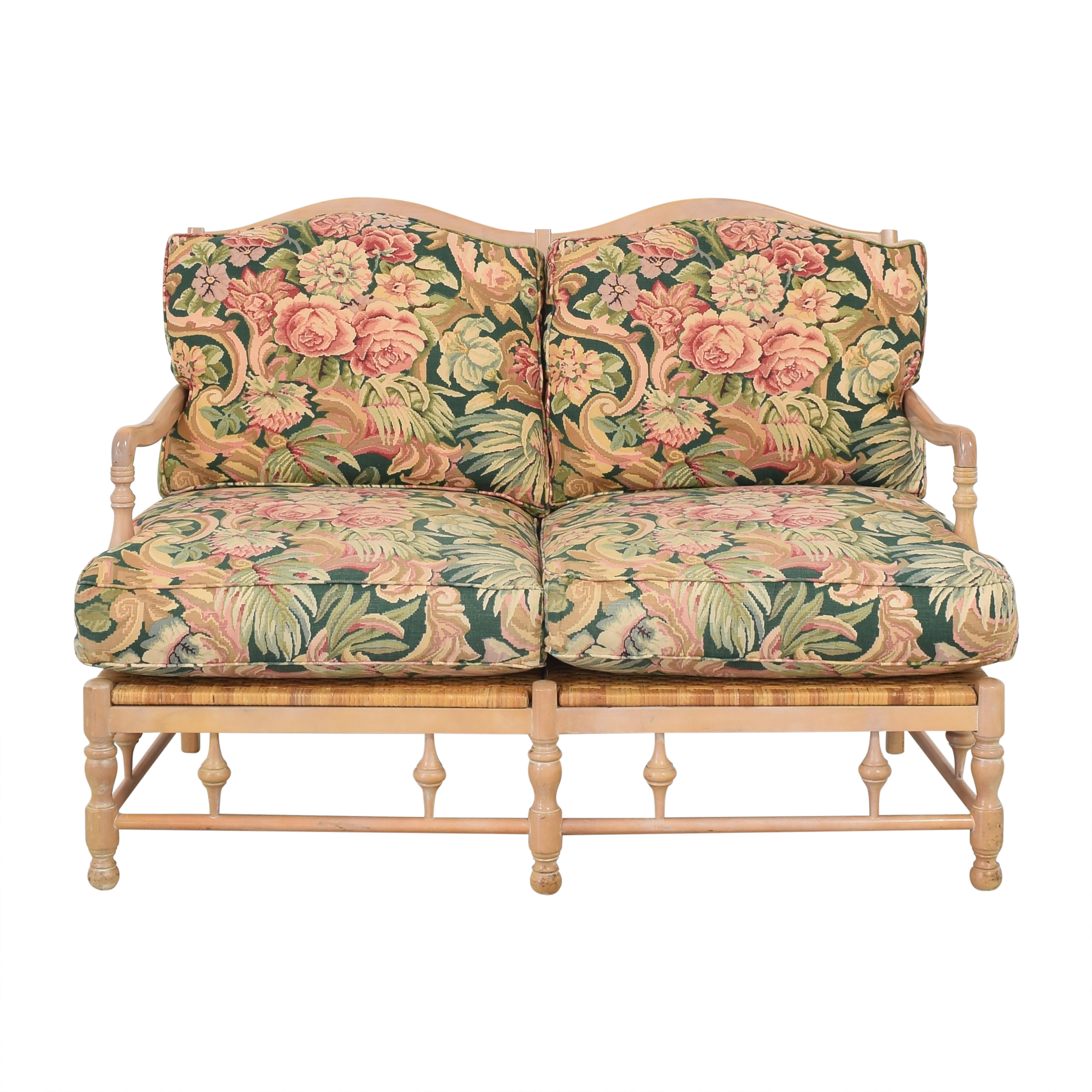 Cushioned Bench Loveseat price