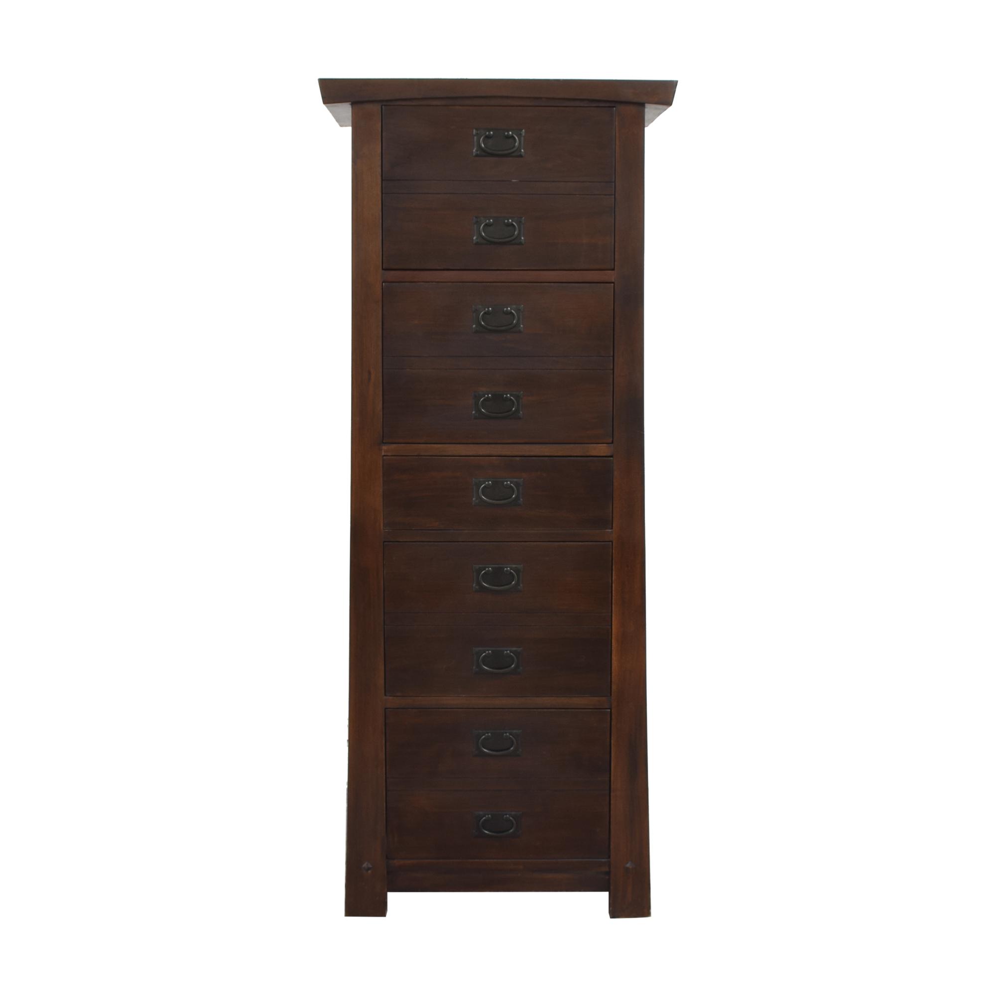 Tall Five Drawer Dresser