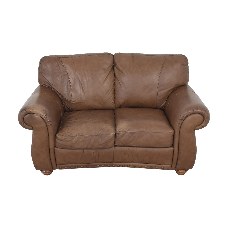 buy Natuzzi Two Cushion Roll Arm Sofa Natuzzi Classic Sofas