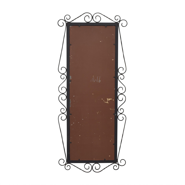Vintage Framed Wall Mirror pa