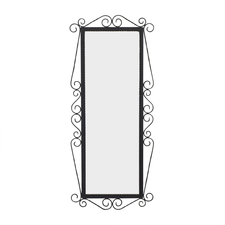 Vintage Framed Wall Mirror second hand