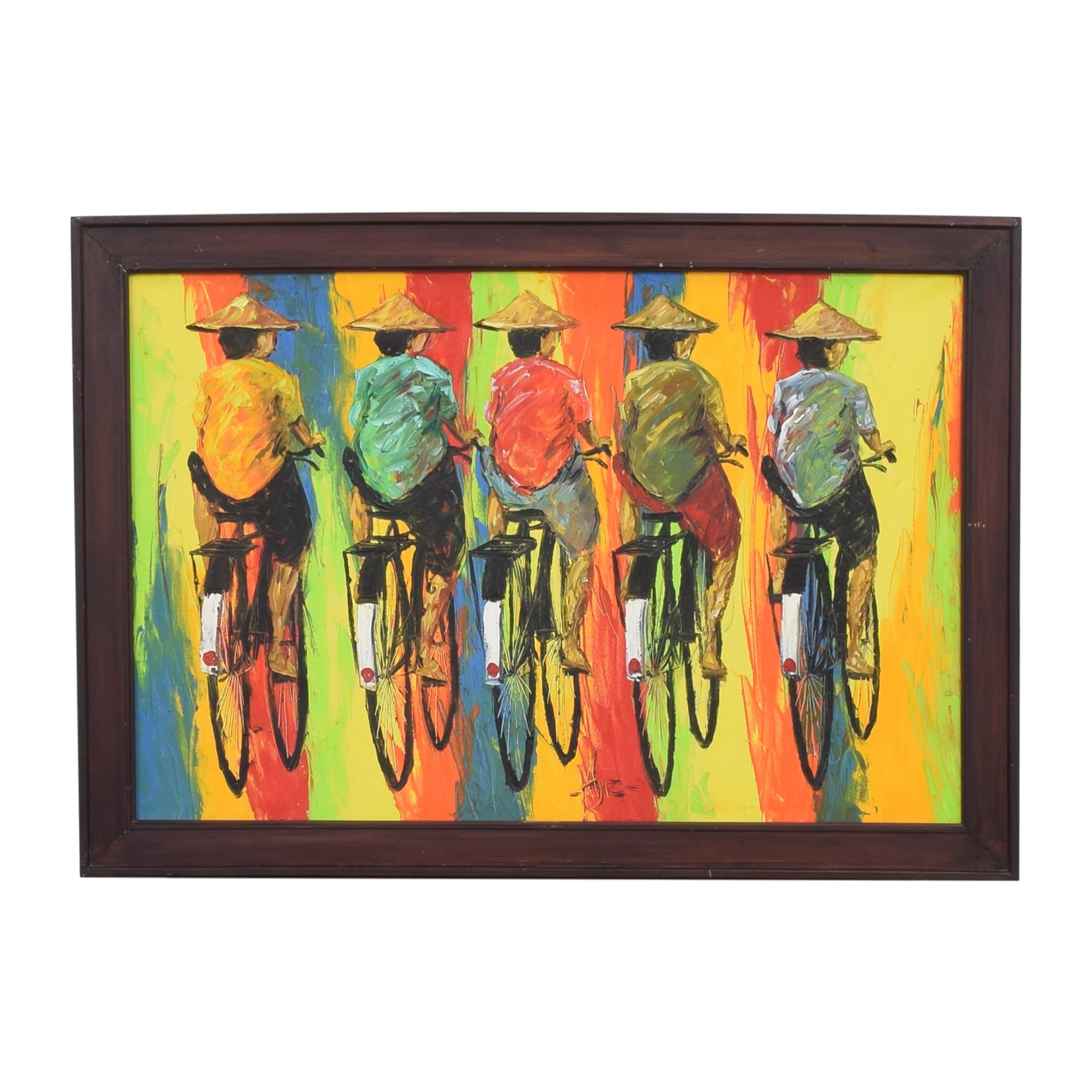 Original Cyclist Art