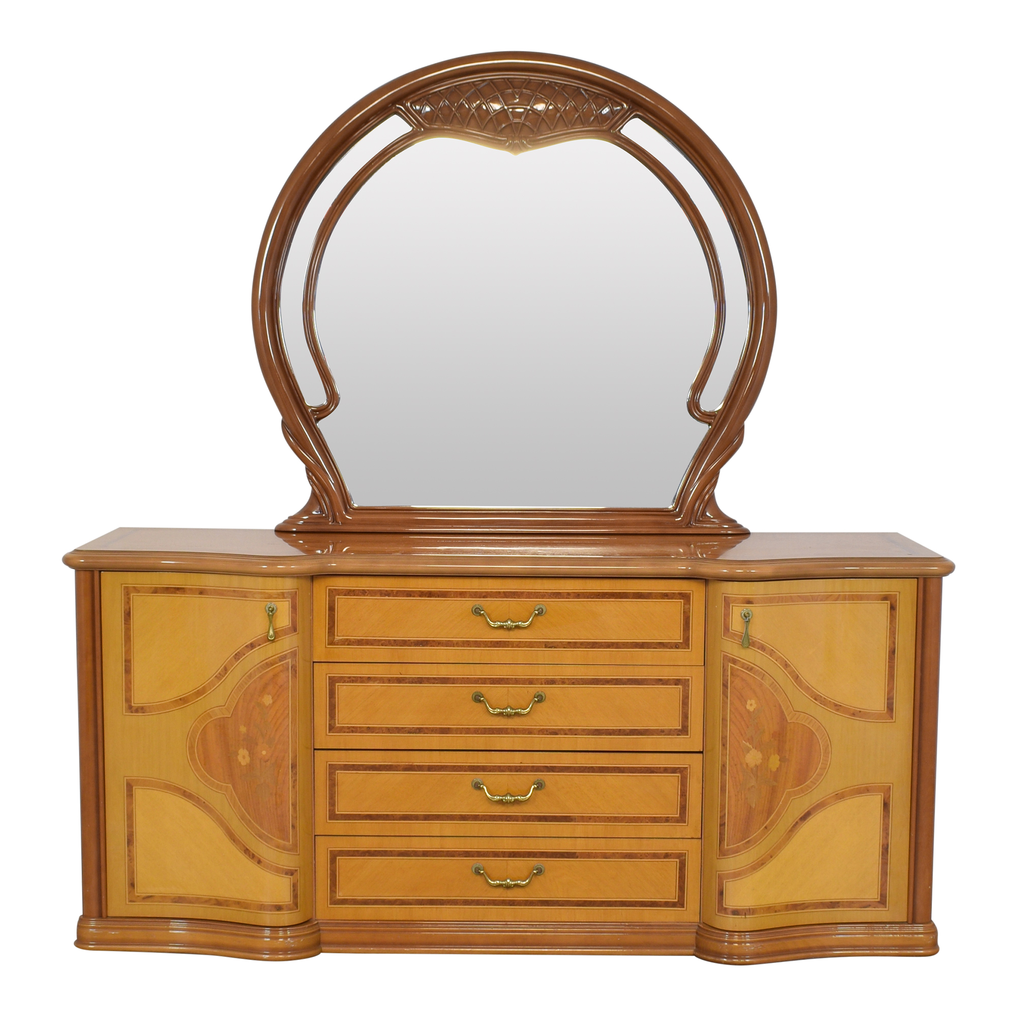 Italian Made Dresser with Mirror / Dressers