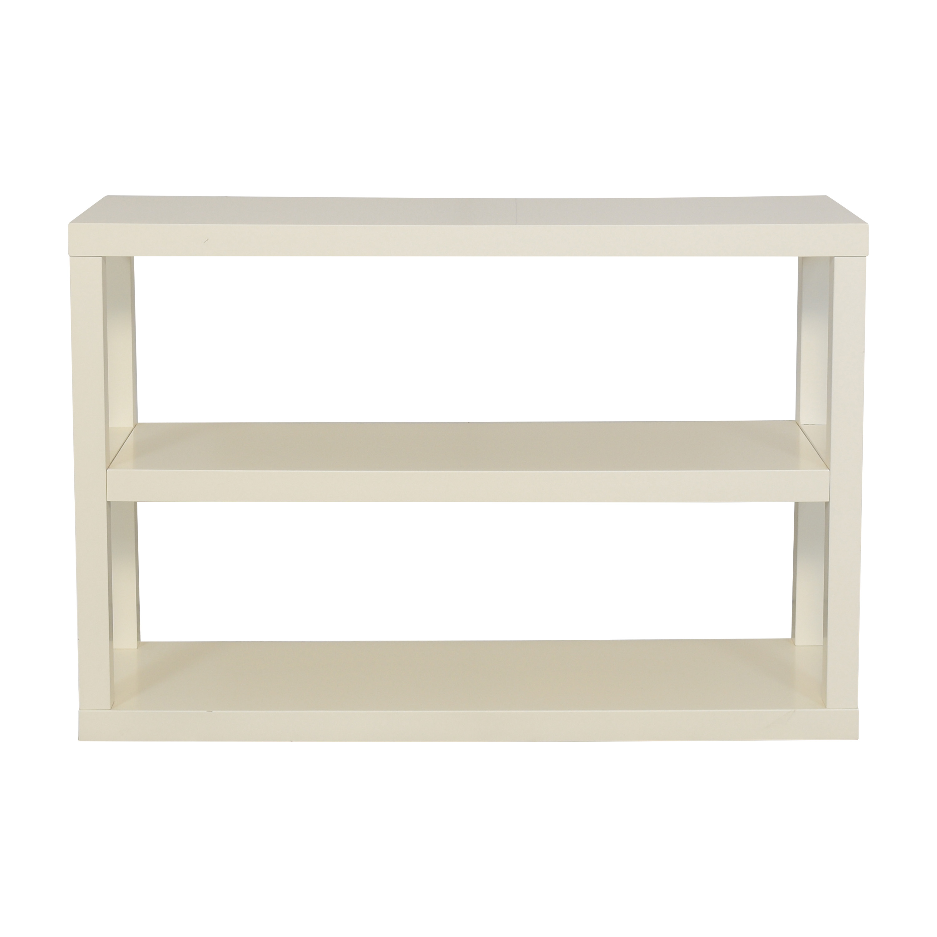 West Elm West Elm Parsons Low Bookshelf on sale