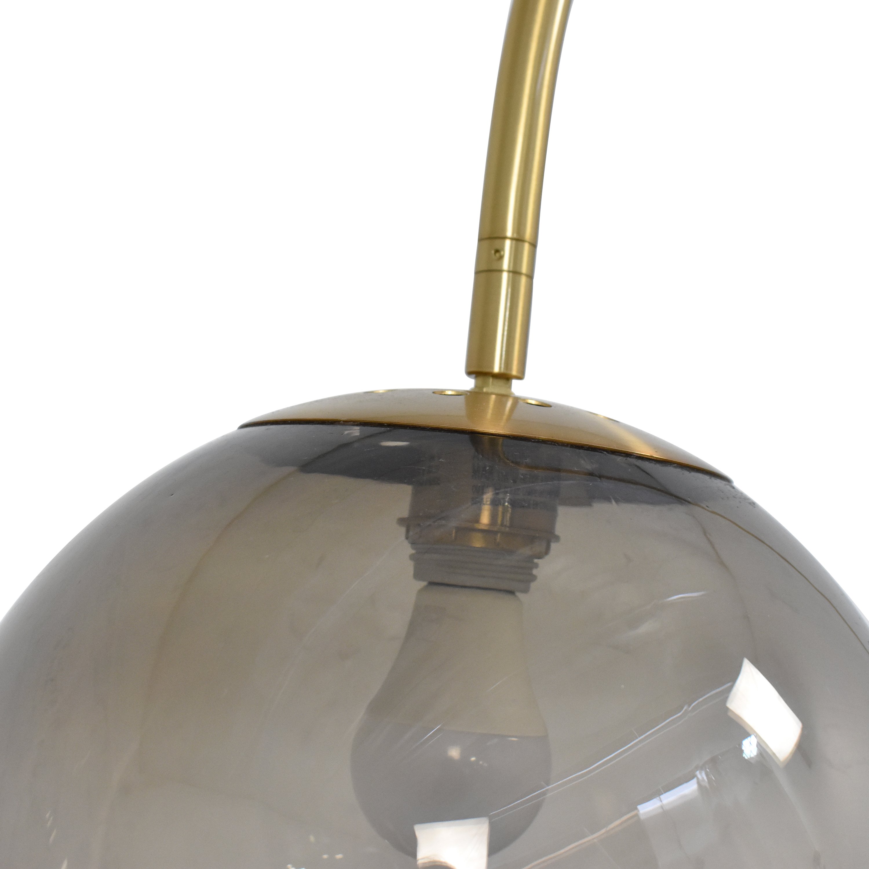 West Elm West Elm Overarching Acrylic Shade Floor Lamp used