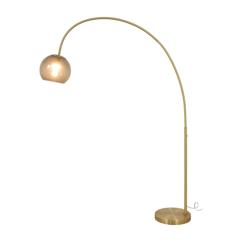 buy West Elm Overarching Acrylic Shade Floor Lamp West Elm Decor